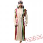 Adult men Samurai Costume Saudi Robe costume