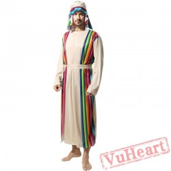 Adult men Samurai Costume Saudi Robe costume