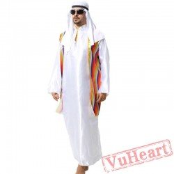 Adult men Arab prince costume