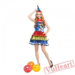 Adult Sexy Clown Women costume