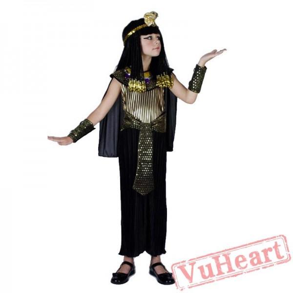 Halloween kid costume Egyptian ancient Roman costume