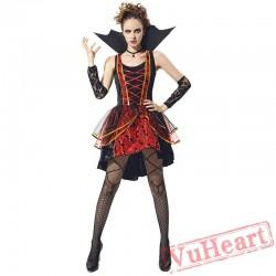 Halloween adult vampire costume