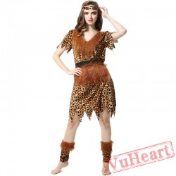African tribal costume, Indian Halloween costume