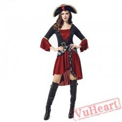Halloween Caribbean Pirate Garment, women