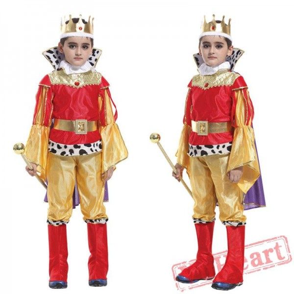Halloween cosplay costume, kid prince costume