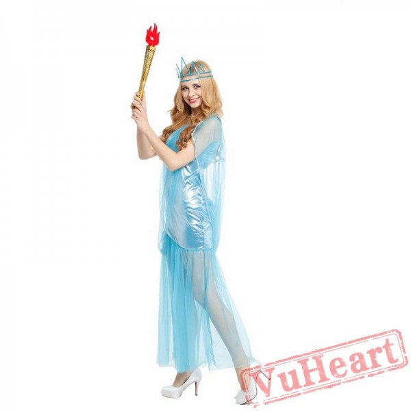 Adult Feel goddess costume, Halloween costume woman