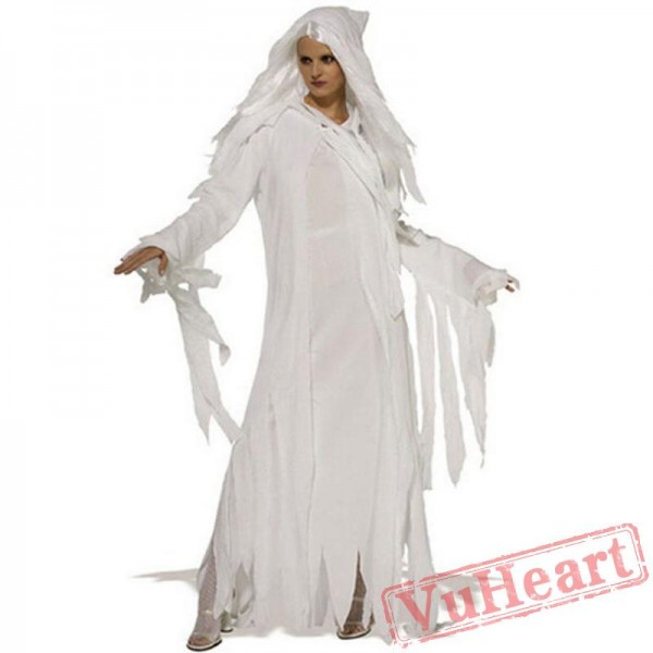 White Witch Witch Ghost Bride Dress