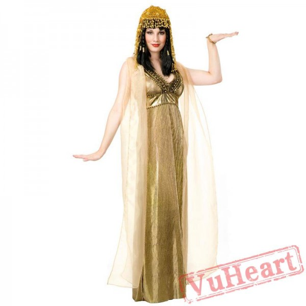 Halloween costumes, Egyptian bright after the costume