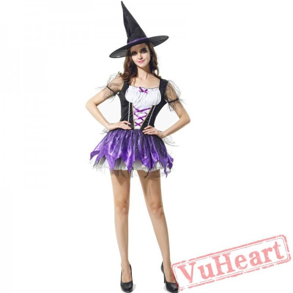 Purple Witch Dress