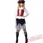 Halloween Adult Pirate Garment Woman