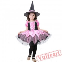 Halloween kid's costume, witch, witch costume