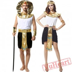 Egyptian after the costume, men and women Egyptian costume men and women priest Roman princess