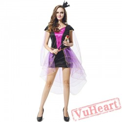 Witch costume, halloween cosplay costume