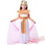 Halloween Child Princess Costume, Egyptian Brilliant Arab Princess Costume