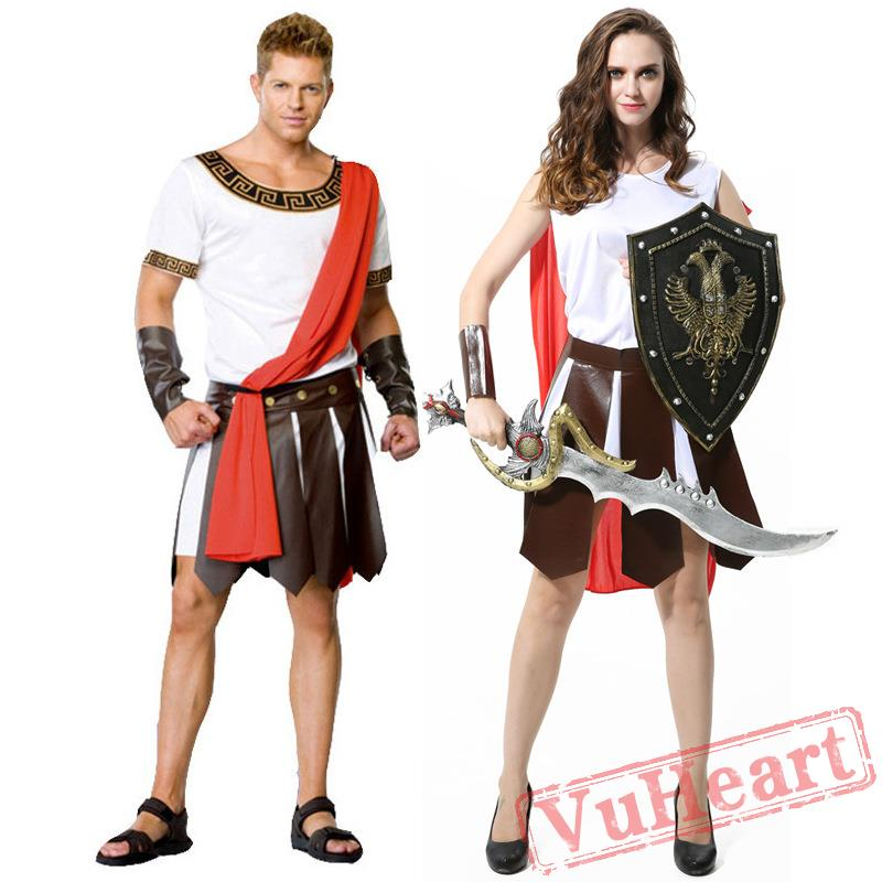sc 1 st  VuHeart & Halloween costume Caesar the Great Gladiator Warrior costume