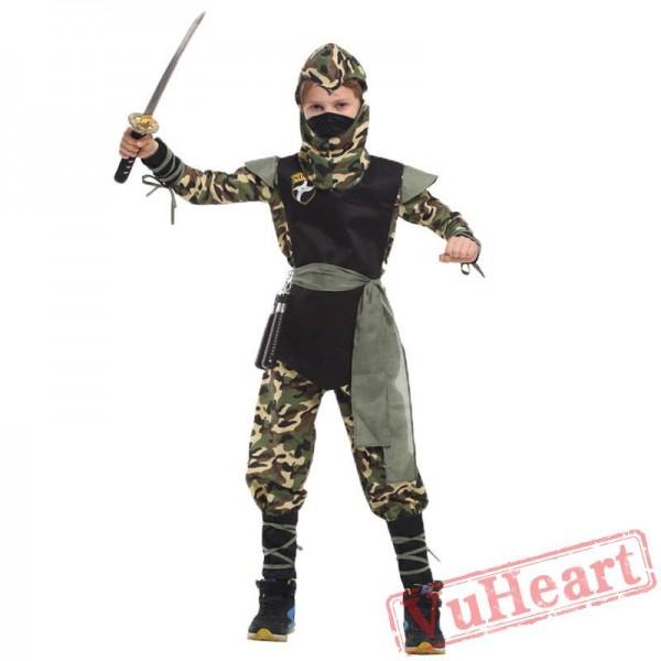 Halloween kid's costume, ninja costumes