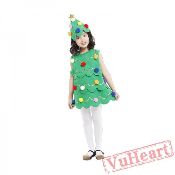 Christmas costume, christmas tree