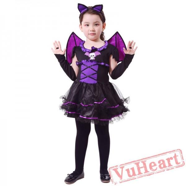 Halloween kid's costume, vampire bat costume
