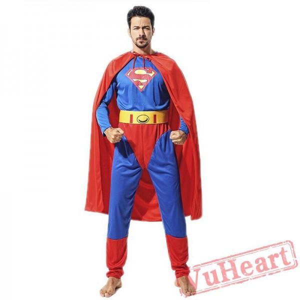 Adult Superman onesies costume