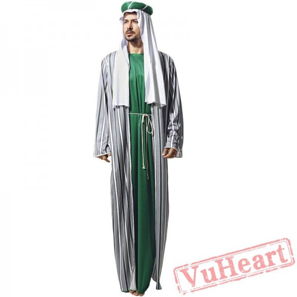 Halloween costumes, adult men costume, Dubai robe