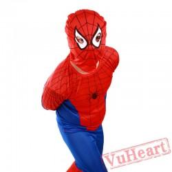 Child Superman Batman Costume, Super Hero Spiderman costume