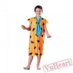Halloween kid's Day costume, Savage Indian angel hunter costume