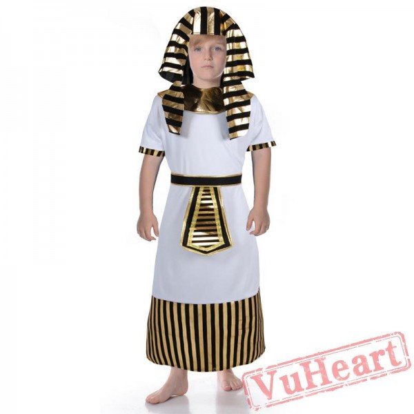 Halloween costume, ancient Egyptian leather after the costume