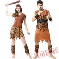 Halloween costumes, Indian leopard costume