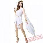 Ancient Greek goddess Athena costume, Egyptian bright costume