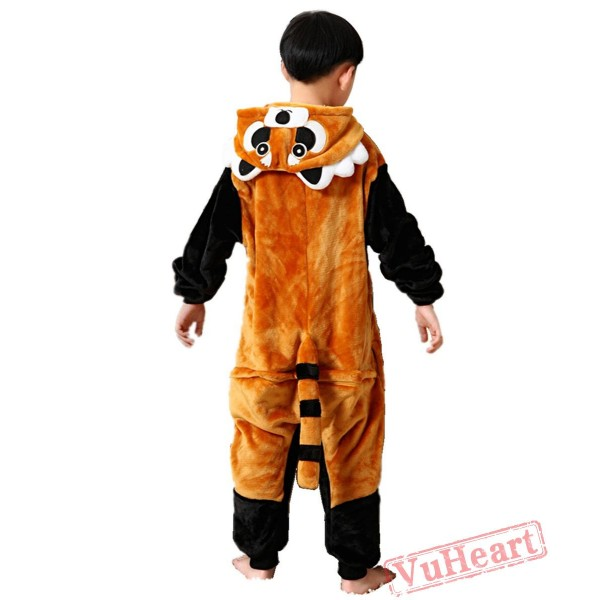 Kigurumi | Black Raccoon Kigurumi Onesies - Onesies for Kids