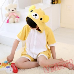 Kigurumi | Animal Rilakkuma Kigurumi Onesies - Summer Onesies for Kids