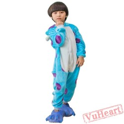 Kigurumi | Blue Cow Kigurumi Onesies - Onesies for Kids