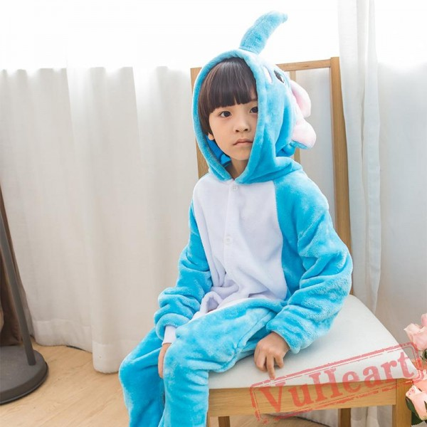 Kigurumi | Blue Elephant Kigurumi Onesies - Onesies for Kids