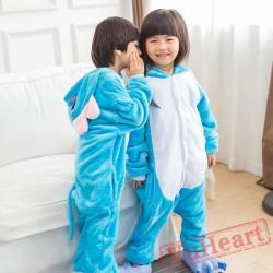 Kigurumi | Blue Elephant Kigurumi Onesies - Onesies for Kids
