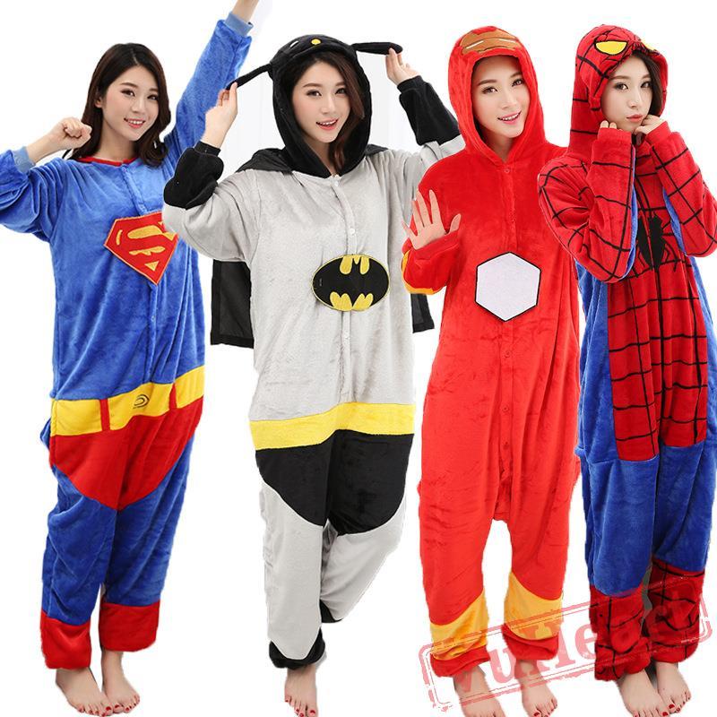 c02fbca646dd Superman Onesie Costume   Pajamas - Halloween Costumes