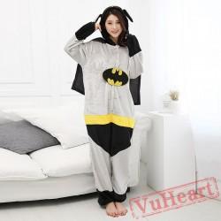 Batman Onesie Costume & Pajamas - Halloween Costumes