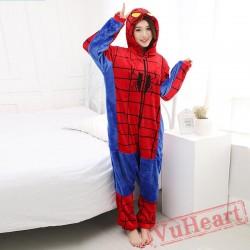 Spiderman Onesie Costume & Pajamas - Halloween Costumes