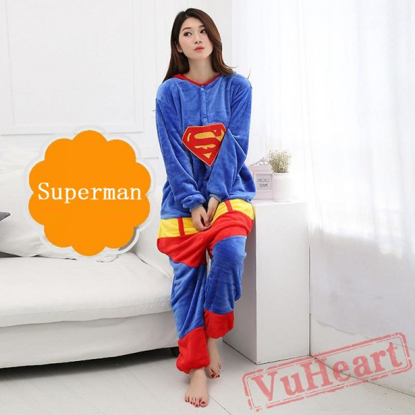 Superman Onesie Costume & Pajamas - Halloween Costumes