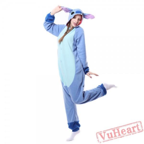 Kigurumi | Blue Stitch Kigurumi Onesies - Adult Animal Onesies