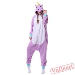 Kigurumi   Purple Unicorn Kigurumi Onesies - Adult Animal Onesies