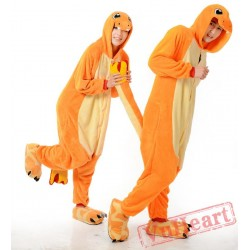 Charmander Couple Onesies / Pajamas / Costumes