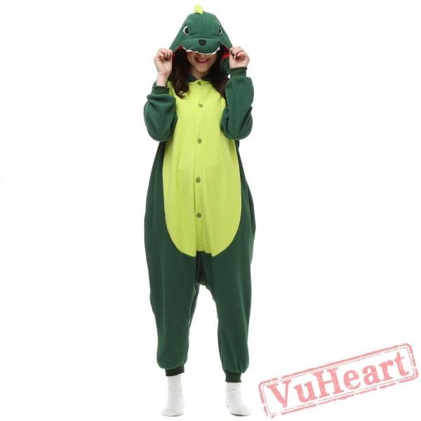 Kigurumi   Green Dinosaur Onesies - Adult Animal Onesies