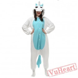 Kigurumi | Blue Unicorn Kigurumi Onesies - Adult Animal Onesies