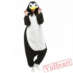Kigurumi | Black Penguin Kigurumi Onesies - Adult Animal Onesies
