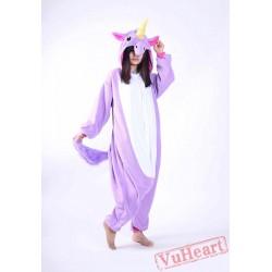 Kigurumi   Purple Blue Unicorn Kigurumi Onesies - Adult Animal Onesies