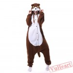 Kigurumi   Brown Squirrel Kigurumi Onesies - Adult Animal Onesies