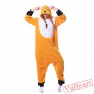 Kigurumi | Orange Fox Kigurumi Onesies - Adult Animal Onesies