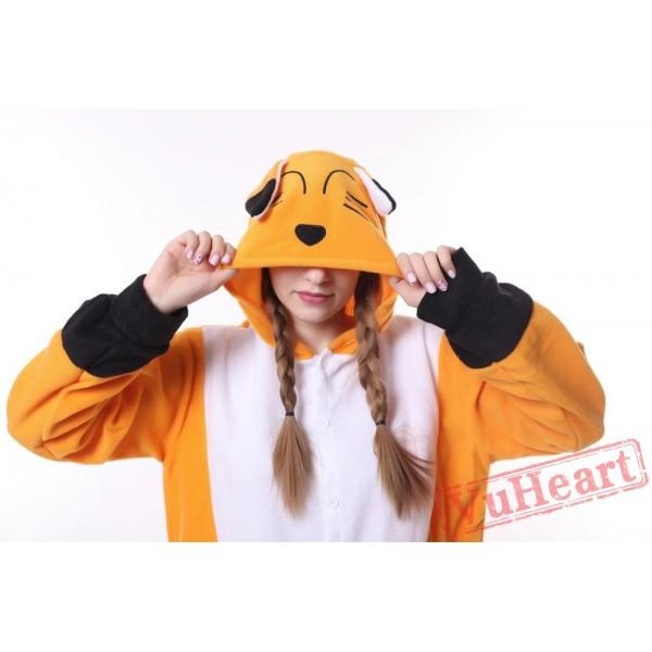 Kigurumi | Orange Fox Kigurumi Onesies - Adult Animal Onesies