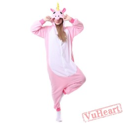 Kigurumi | Blue & Pink Unicorn Kigurumi Onesies - Adult Animal Onesies