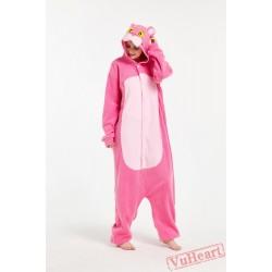 Kigurumi | Pink Wolf Kigurumi Onesies - Adult Animal Onesies